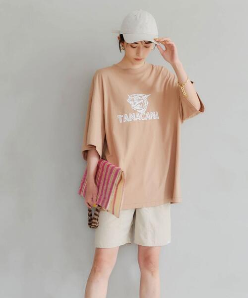 <Tanacanaana (タナカーナ) > ハーフ パンツ[ ショートパンツ ]-撥水加工-