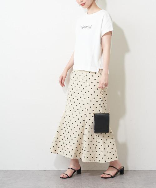 [natural couture] 厚手 e panoui ロゴT