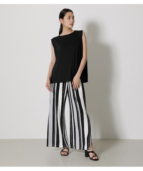 [AZUL BY MOUSSY] GLOSSY COOL BACK TUCK TANK6