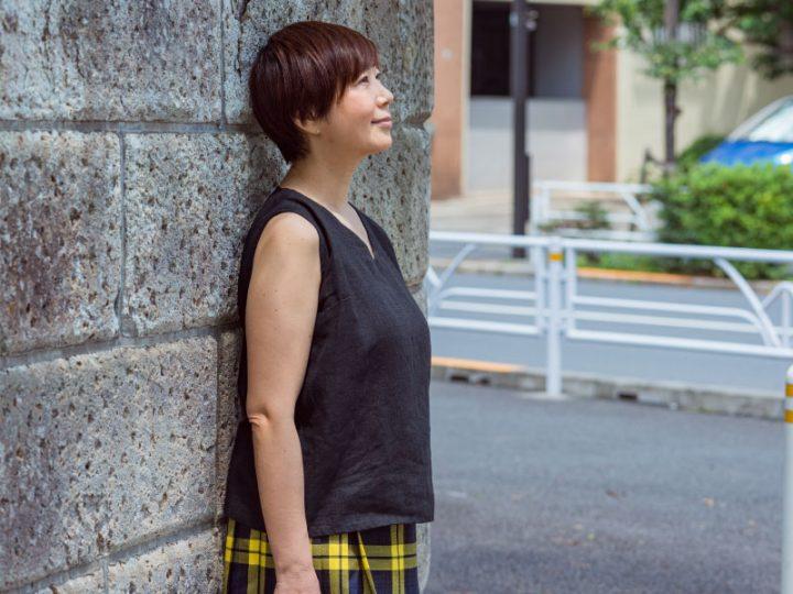 あっこたんと作る理想のお洋服「はなうたノースリーブV」4