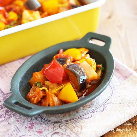 夏野菜で作る!人気の献立カポナータ