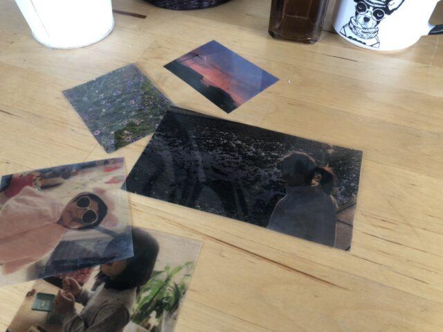 ラミネートでフィルム風透明写真13