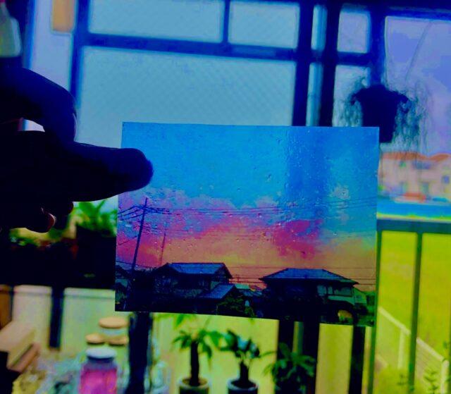 ラミネートでフィルム風透明写真12