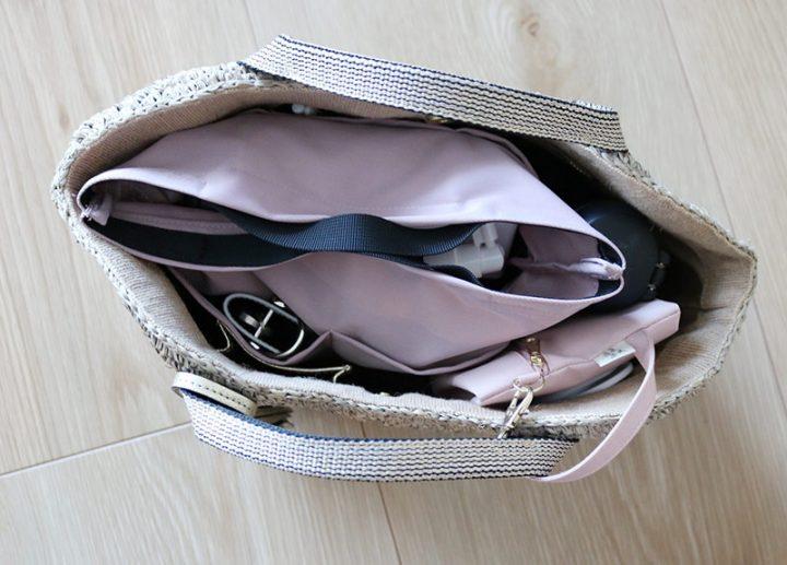 ボンモマンのバッグインバッグ15