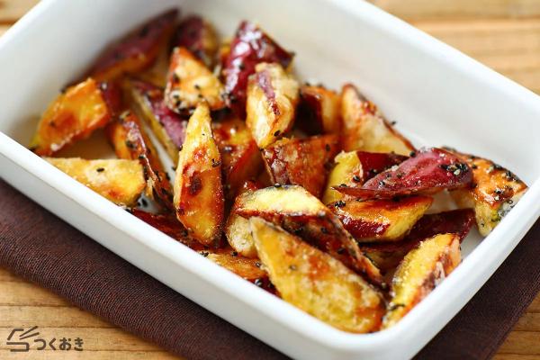 冷めても食感持続が嬉しい大学芋レシピ