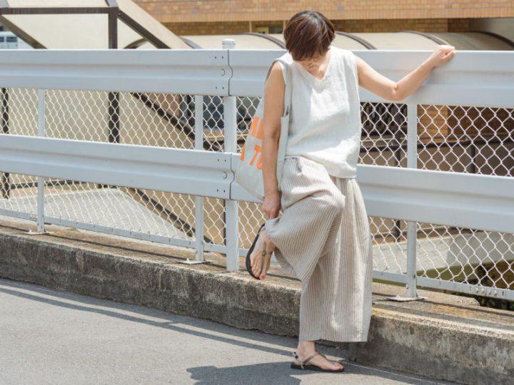 あっこたんと作る理想のお洋服「はなうたノースリーブV」2
