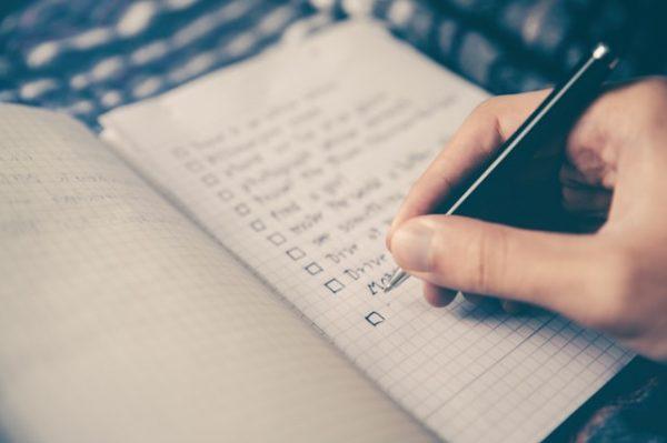 やりたいことリストを作成すると良い理由