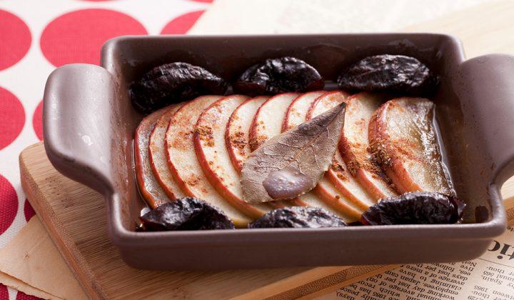 りんごとプルーンのハニー焼き