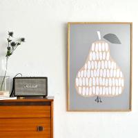 木製フレームで飾るこだわりのポスター
