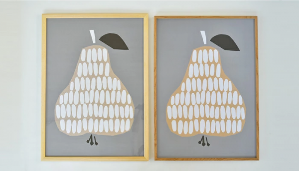 木製フレームで飾るこだわりのポスター3