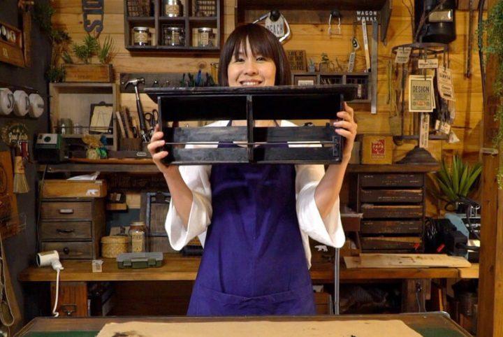 DIYレシピ・アンティーク風万能シェルフの作り方9