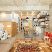 ロフトで空間を2倍楽しむ+遊び心のある住空間