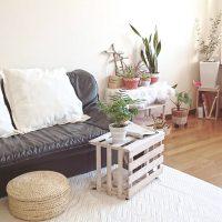 便利なミニテーブルのDIY実例14選。自分だけのおしゃれ家具に挑戦しよう