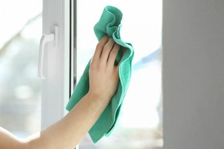窓ガラスの掃除方法