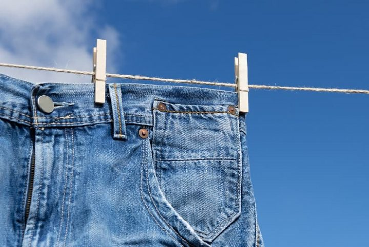 ジーンズの洗濯方法