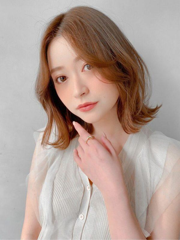 色っぽ可愛い韓国風前髪