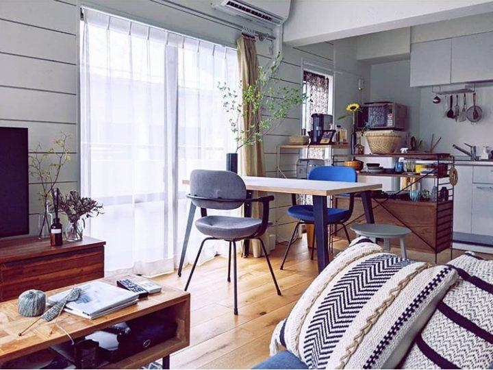 二人暮らしの狭い部屋のレイアウト9