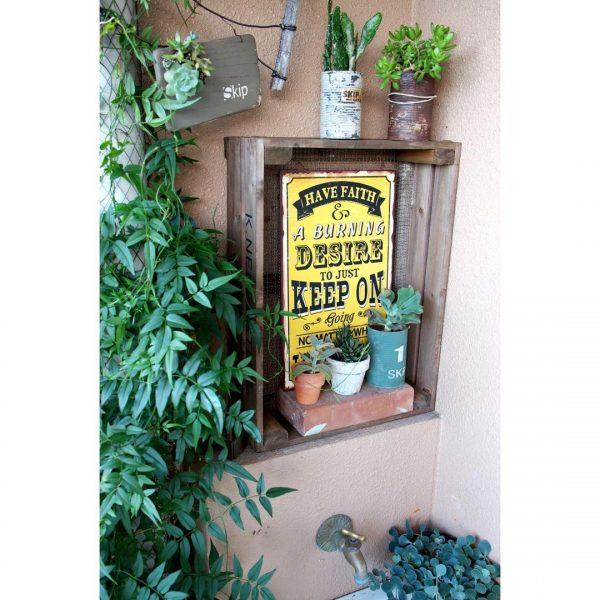 植物を使った排水管のおしゃれな目隠しアイデア