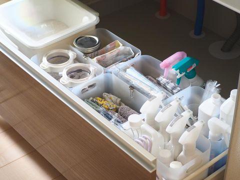 掃除道具が使いやすい無印良品収納