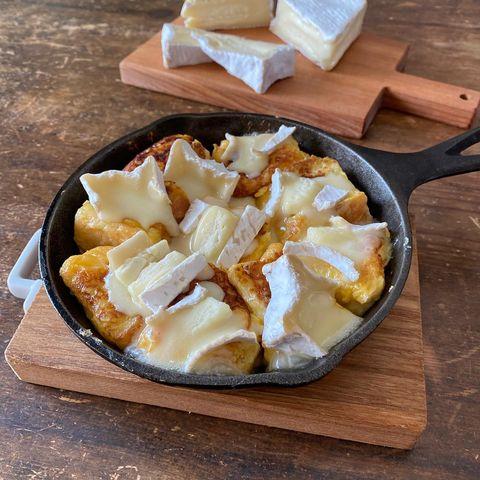 相性抜群!チーズのせフレンチトーストレシピ