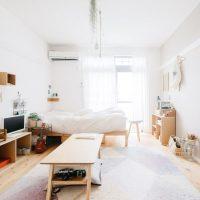 6畳ワンルームのレイアウト実例。一人暮らしさんにおすすめの空間の作り方