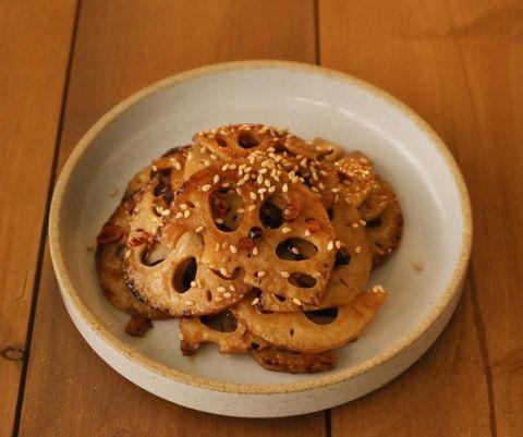 ご飯おかわり!蓮根の黒酢きんぴらレシピ