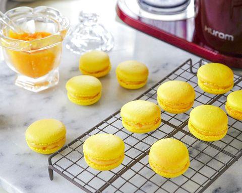 簡単&本格的な使い道♪レモンマカロンレシピ