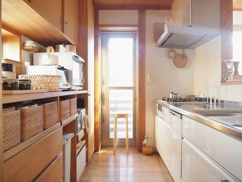 落ち着き感が人気の北欧キッチンインテリア