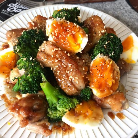 コク旨♡鶏とブロッコリーのマヨ照りレシピ
