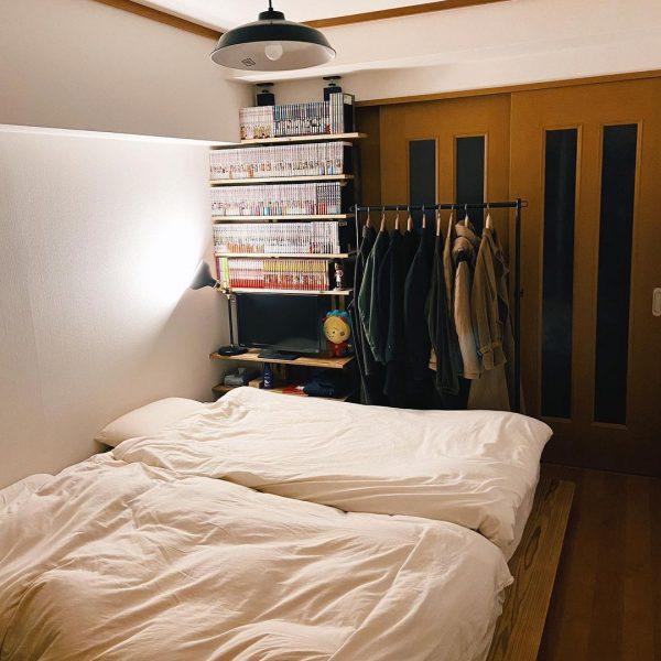 二人暮らしの狭い部屋のレイアウト12
