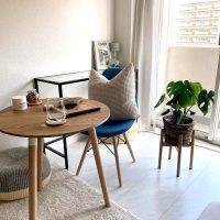 アイアンとウッドの組み合わせでつくる居心地の良い暮らし。7.6畳の一人暮らしインテリア