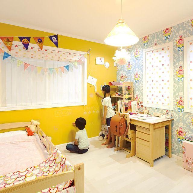 整理整頓がポイントになる西向きの子供部屋