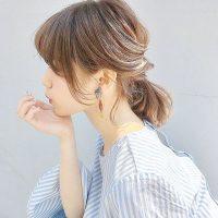 40代の一つ結びは前髪なしがおすすめ。女性らしいこなれ感を出すアレンジ15選