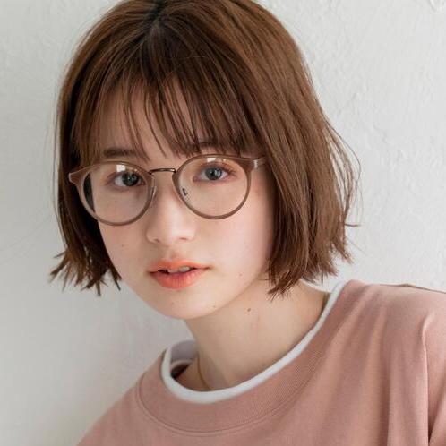 メガネが似合う大人のボブ特集。フレームとバランスが良いおしゃれヘアスタイル