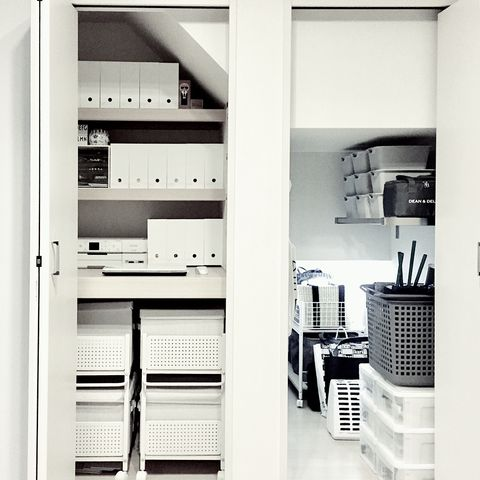 ニトリファイルボックス収納