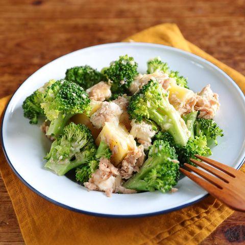 旨み◎2色野菜のガリバタツナ和えレシピ