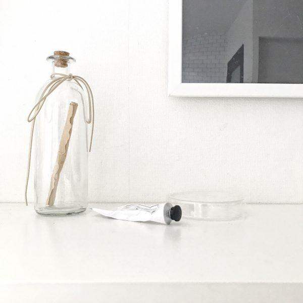 センスがよいおしゃれなガラス瓶