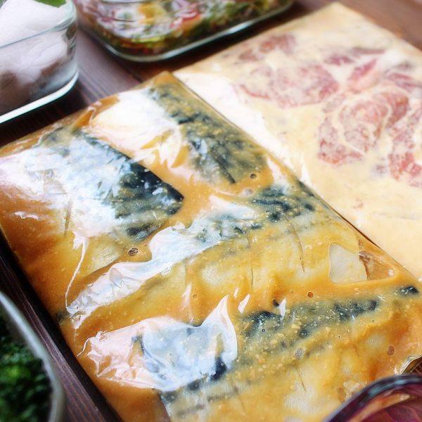 下味冷凍で時短に!人気魚料理のサバの味噌煮