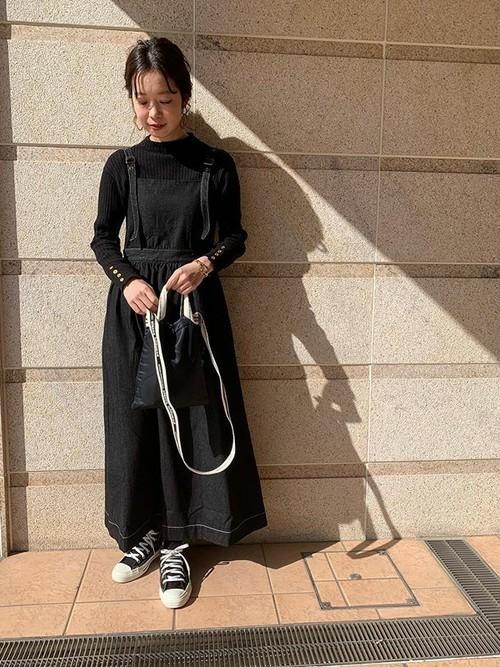 ギャザージャンパースカート