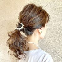 結婚式の二次会にぴったりの髪型!自分でできる簡単お呼ばれヘアアレンジカタログ