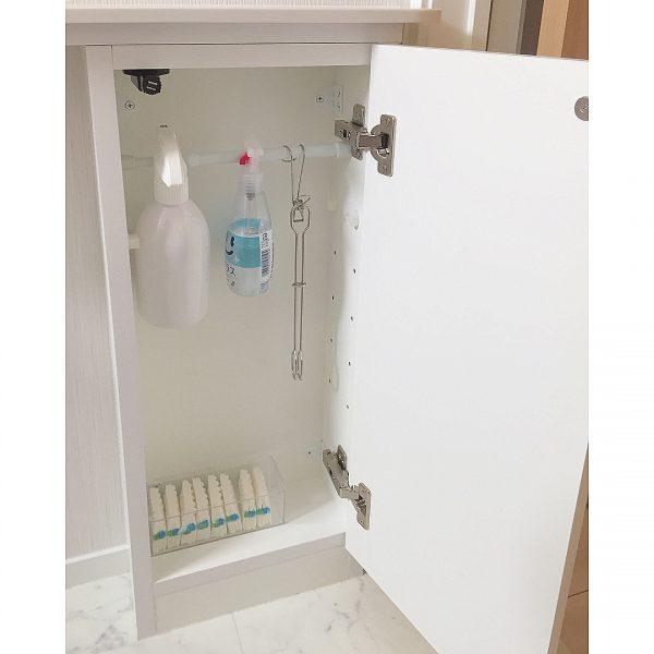 いらないものをすべて隠すトイレ収納DIY術