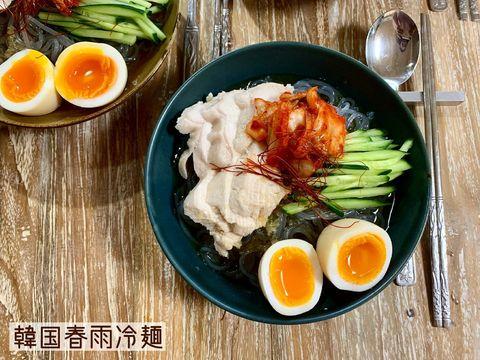 冷たいメニューなら韓国春雨冷麺