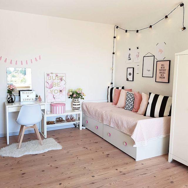 女の子の子供部屋におすすめのピンク色