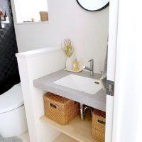 トイレ収納のDIYアイデア特集。おしゃれ&スッキリ収納で魅力的な空間に