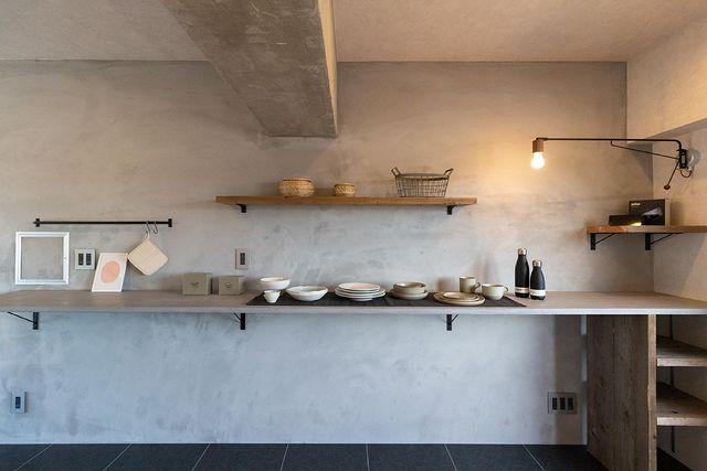 照明がおしゃれな北欧キッチンインテリア