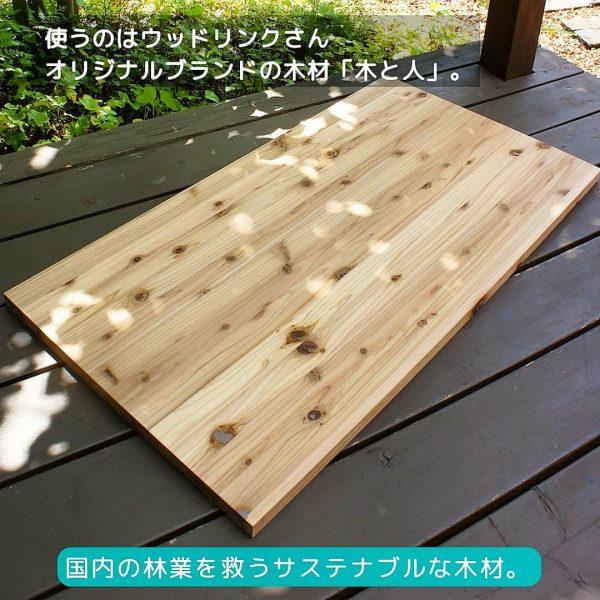 サステナブルな木材