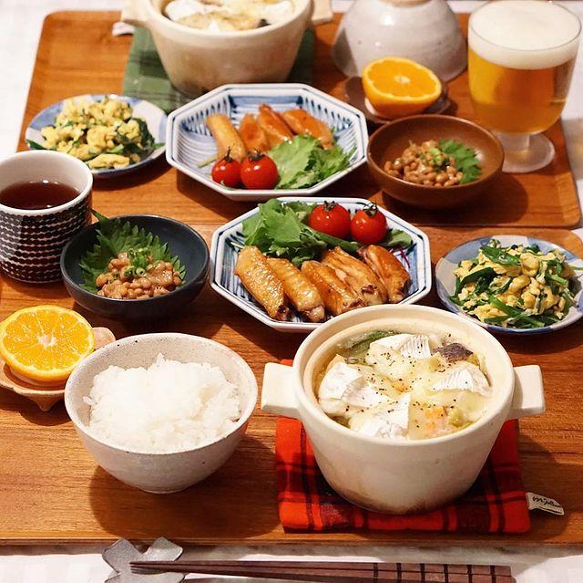 一人鍋に♪白菜と鮭のチーズ入りミニ鍋レシピ