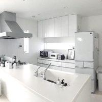シンプルなキッチンインテリア実例。こだわりのおしゃれを叶える素敵な空間コーデ