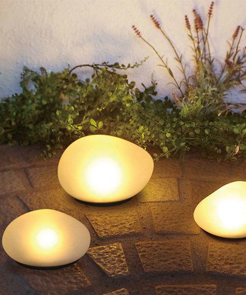 [IDEA SEVENTH SENSE] LED Solar stone L