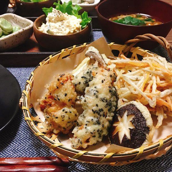 食べごたえ◎とり天と根菜のかき揚げレシピ